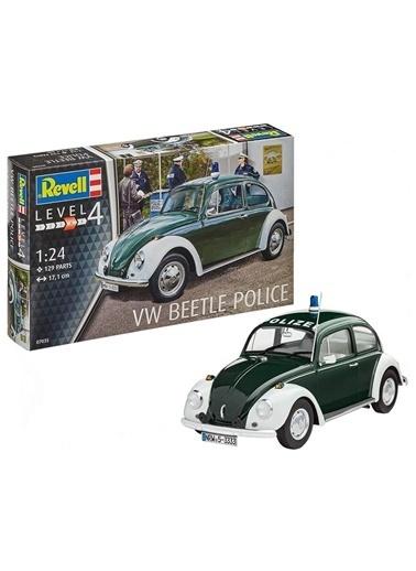 Revell Revell Maket 1:24 Volkswagen Beetle Police Renkli